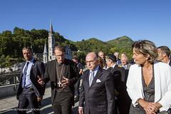Dplacement de Bernard Cazeneuve  Lourdes pour la scurisation du plerinage du 15 aot (Ministere de l'Intrieur) Tags: bernardcazeneuve lourdes plerinage gendarmerienationale policenationale scurit