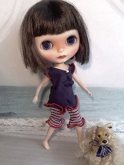 Blythe-a-Day#16: Vacation: Scout at the Shore