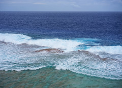 Reef (borealnz) Tags: niue island reef sea ocean pacific travel holiday destination vacation coastline seascape waves