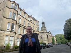 Derby street Glasgow (1) (dddoc1965) Tags: dddoc davidcameronpaisleyphotographer september 23rd 2016 kenny ried glasgow buildings parks shop fronts fountain polish people churches mosque water