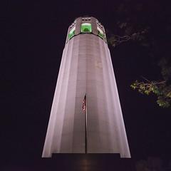 Coit Tower (JBernadez) Tags: sanfrancisco california northbeach coittower saintspeterpaulchurcharchitecturecityurbanstreetphotographycanoncanon ef 1635mm f28 usm night