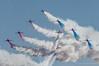 Red Arrows goose (DrAnthony88) Tags: aerobaticdisplayteam bluesky hawkt1 iwmduxford modernmilitary nikkor200400f4gvrii nikond810 redarrows airshow raf