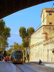 De Montpellier  Cournonterral (jc.d the cycling photographer) Tags: france languedoc hrault montpellier pignan ruefoch arcdetriomphe peyrou tram tramway tam ligne4 corum