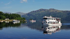 Tarbet to Inversnaid Ferry (brightondj - getting the most from a cheap compact) Tags: lochlomond scotland ferry water loch scotlandaugust2016 lochlomondferry reflection trossachs thetrossachs summer2016 holiday summerholiday uk britain ukholiday