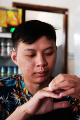 01 (indrarosalia) Tags: bali fujifilm x100t classic chrome kuta pantai vacation terfujilah indonesia sunset beach kuliner food eatwell pak dobil