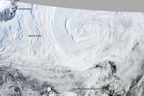 Suomi NPP View of Summer Arctic Storm [annotated]