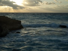 Cancun Atardecer (Quiero Cancn!) Tags: beach mxico playa beaches cancun playas playadecancun