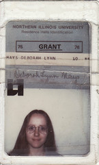 My residence hall I.D. for 1975-1976 (debstromquist (who hates the new Facebo...er Flick) Tags: me illinois il dekalb niu alltherage scannedphotos northernillinoisuniversity grantnorth residencehallid grantnorthresidencehall wirerimmedaviatorglasses