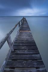 Portsea Piers (T. Flack) Tags: ocean longexposure beach pier jetty australia victoria lee portsea bigstopper