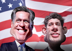 7761056528 afd176cfd5 m MoveOn Ad Shows Mitt Romney, Paul Ryan Literally Stepping on the Middle Class as They Accept Nomination