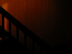 (ohpapercut) Tags: wisconsin night stairs dark ohpapercut