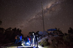 Tuned in (OzSavage) Tags: bridgetown galaxy milkyway watchers stargazer antenna