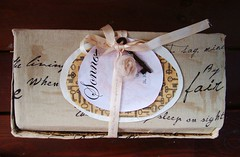 Sonnet's Special Box (Jordan Taylor - The Free Folk) Tags: art ooak sewing shakespeare romantic artdoll sonnet shabby clothdoll
