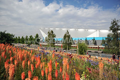 Water Polo Arena (Paddy-K) Tags: london sport unitedkingdom olympics olympicpark stratford london2012 waterpoloarena