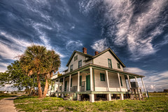 Island House (grandalloliver) Tags: vacation house beach home canon florida wide sigma wideangle 1020mm hdr pensacola pensacolabeach topaz sigma1020mm fortpickens photomatix rebelxsi canonxsi topazadjust grandalloliver grandalloliverphoto