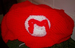 Crochet Mario Hat (GeekChicCrochet) Tags: red silly cute nerd hat kids children stuffing fun toy smash stuffed soft geek handmade unique crafts crochet nintendo ds adorable craft super mario m yarn fantasy nes chic etsy bros luigi yoshi loveable snes squee wii geekchiccrochet