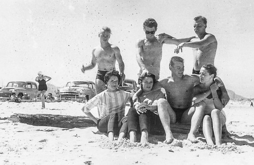 South African photographs from 1954-45