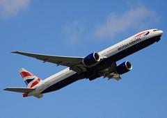 """British Airways B777-36NER G-STBD @ Tokyo """" Narita """" INTL Airport (Masa737NG) Tags: british boeing narita b777 gstbd"""