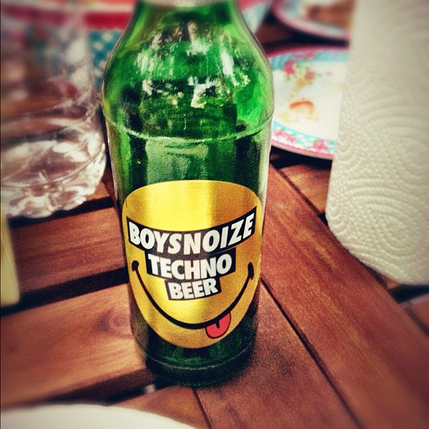 Boysnoize Techno Beer