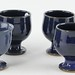 4041. Six Footed Jugtown Egg Cups