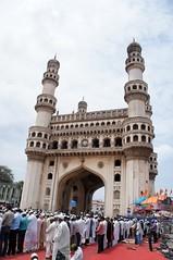 Ramzan @ Charminar (Rajesh_India) Tags: india sony hyderabad ramadan charminar ramzan