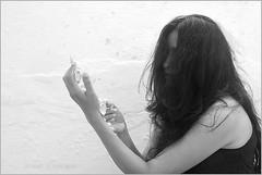 longing (nevil zaveri (thank you for 10million+ views :)) Tags: portrait blackandwhite bw woman shells india church monochrome museum hair religious photography photo necklace blog photographer hand photos religion touch fingers stock shell chapel images photographs photograph rosary conceptual myfamily zaveri gujarat stockimages gujrat nevil diu diudaman nevilzaveri