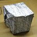 """Make a pencil rubbing on a textured surface and create an image from the marks - Simple origami cube • <a style=""""font-size:0.8em;"""" href=""""http://www.flickr.com/photos/58876504@N02/7855657650/"""" target=""""_blank"""">View on Flickr</a>"""