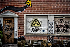 Urban Dark - Urbex et Street art  ... Doel en Belgique . (Dubus Laurent) Tags: street portrait urban house building art home station architecture dark landscape graffiti paint village belgium belgique explorer hangar tags dessin peinture route abandon urbanexploration villa ghosttown paysage exploration maison rue antwerpen zone ville anvers manoir vide urbain artiste urbex artistique habitation peintre urbaine interdit cass bris doel flamand flandre villefantme explorationurbaine dendoel