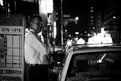Taxi Driver on a Break (Tonki Fotografie) Tags: street leica japan 35mm sapporo m9p summicronmasph