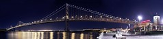 Bay Bridge Pano (rich cirminello) Tags: sanfrancisco street bridge urban streets architecture buildings landscape cityscape streetphotography baybridge oaklandbaybridge