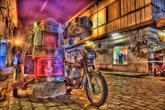 Tricycle (Nukie13) Tags: longexposure night canon tricycle philippines filipino vigan hdr ilocossur traysikel 3brackets 5d2 funtasticphilippines
