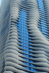 Chicago Aqua Tower (chicago_bear) Tags: chicago building architecture downtown residential wavy aquatower