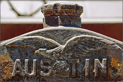 Austin (WingmanPhotography) Tags: auto california old metal closeup museum truck canon vintage junk rust vintagecar automobile antiquecar metallic rusty funky oxidation campo weathered grille oldcar oldtruck derelict corrosion hoodornament corroded oxidized vintagetruck pitted antiquetruck motortransportmuseum