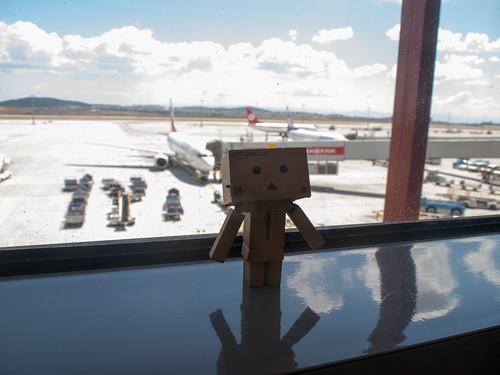 Danboard at SAW airport