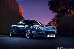 Satin Black and Pink Lotus Exige S Long Exposure Light Painted * Explored #304 * (NWVT.co.uk) Tags: uk pink light urban black cup sports car photography star long exposure industrial photographer lotus unique painted s automotive september explore trail satin rare pinkie global 2012 s2 sportscars exige explored nwvt