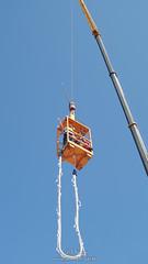 Zato  Bungee (ZATObungee) Tags: jumping no august leipzig fallen bungee limit 2012 50m fliegen a57 springen kletterhalle zato minolta35105mm sonya57 25082012 zatobungee