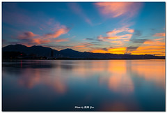 ~ ((eric)) Tags: morning sky cloud sunrise nikon taiwan    d800      wugu   tamsuiriver diaoyutai guandutemple 142428g shueishalian