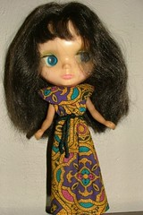 My first raven haired girl!!!