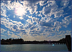 Clouds (CanMan90) Tags: trestle clouds britishcolumbia victoria vancouverisland gorge selkirk waterway cans2s