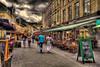 Streetview (Wameq R) Tags: street people cloud netherlands restaurant saturday hdr valkenburg lightroom photomatix tonemapped tonemapping me2youphotographylevel1