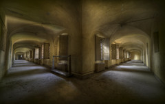 Decision time (andre govia.) Tags: windows urban never abandoned buildings hospital photo shot photos decay hallway creepy explore stop shutters mission split exploration decaying urbex corridors abandonedasylum andregovia fogottenbuildings closeddownhospital