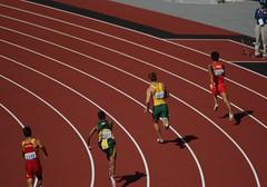 Men's 200m T38 - London 2012 Paralympics (hobbitbrain) Tags: london athletics track australia run gb olympics sprint olympicpark 2012 paralympics olympicgames london2012 evanohanlon