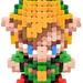 Pixel Art 3D Fimo 07
