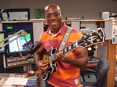 Nigerian prolific Afrobeat guitarist Soji Odukobge visits Africamix to share and talk about his music. (kalwafricamix) Tags: music talk his about visits share guitarist nigerian afrobeat prolific soji africamix odukobge