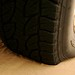1 BAR de pressão nos pneus dianteiros