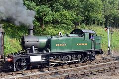 GWR Prairie 2-6-2T No. 5521 (norman-bates) Tags: prairie steamrailway steamtrain flourmill forestofdean shackerstone gwr steamlocomotive shenton marketbosworth 262t 5521 battlefieldline theflourmill built1927