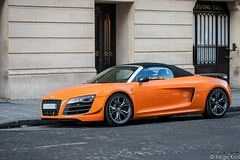 GT Orange (haiwepa) Tags: orange paris spyder gt audi r8 r8gt
