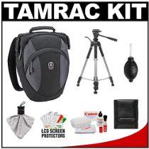 Best Cheap Deals Tamrac 5768 Velocity 8x Pro Photo Digital SLR Camera Sling Bag (Black) + Tripod + Canon Cleaning Kit for Canon EOS 7D, 5D Mark II III, 60D, Rebel T3, T3i, T2i (aoraclexperiasixsens) Tags: t3i 60d t2i rebelt3 5dmarkiiiii comparebestpricetamrac5768velocity8xprophotodigitalslrcameraslingbagblacktripodcanoncleaningkitforcanoneos7d
