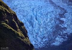 Ice Flow - Virkisjökull, Iceland (orvaratli) Tags: blue summer cold green ice iceland glacier skaftafell vatnajökull öræfajökull virkisjökull