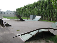 Skate- en skeelerterrein